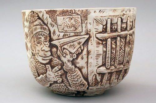 thomas lacroix, poterie, Sarrant, estivales, les ames papier